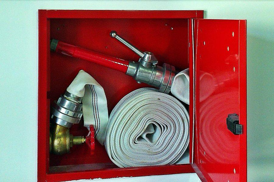 Unutarnji hidrantski ormaric - Zastita od pozara